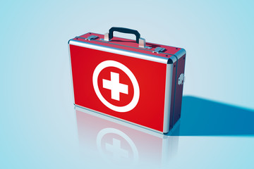 Medical bag background