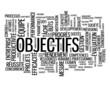 Nuage de Tags OBJECTIFS (performance productivité projet équipe)