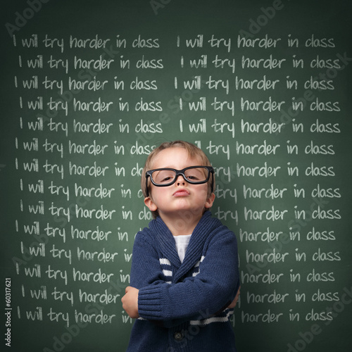 I will try harder in class
