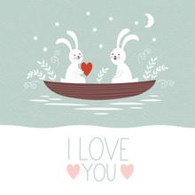 Jour ou de mariage la carte de Saint-Valentin