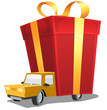 Birthday Gift On Delivery Truck