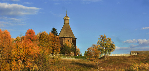 The wooden architecture of the Russian North