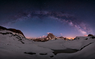 Milky way arc
