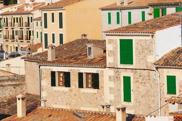 Village in Mallorca, Spain