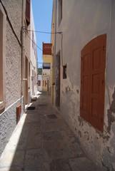 mandraki città isola di nisyros grecia