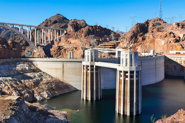 Hoover Dam and bridge bypass