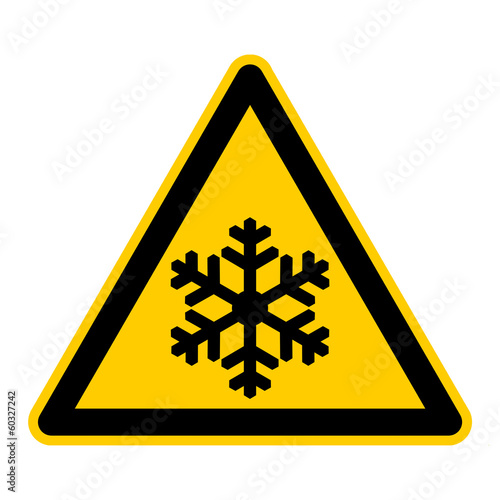 canvas print picture symbol for frost german frost g429
