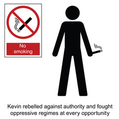 Kevin the rebel cartoon