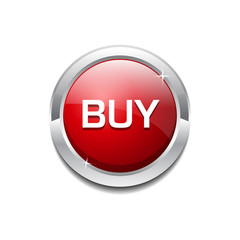Rounded Buy Button Icon