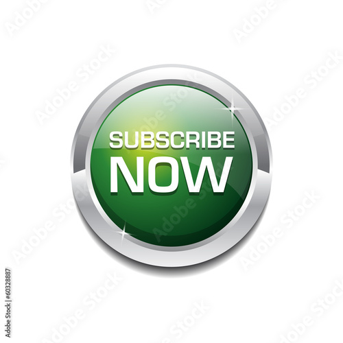 Rounded Subscribe Button Icon