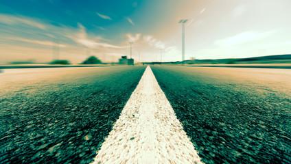 Fondo de carretera