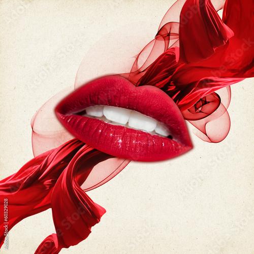 Самый красивый женский рот фото 23 фотография