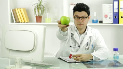Healthy Fruit Apple Alternative Choice Young Doctor