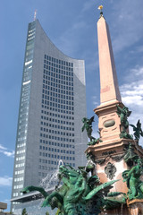 City Hochhaus in Leipzig