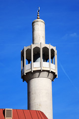 Minaret of the London Central Mosque