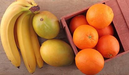 Mango - Banane - Orange
