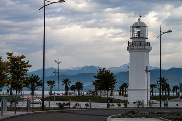 Lighthouse in Batumi, Georgia