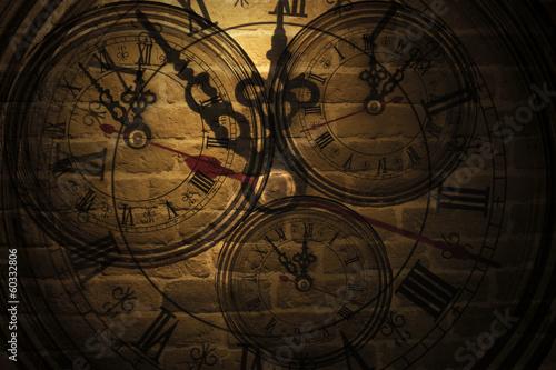 Leinwandbild Motiv Time Wall