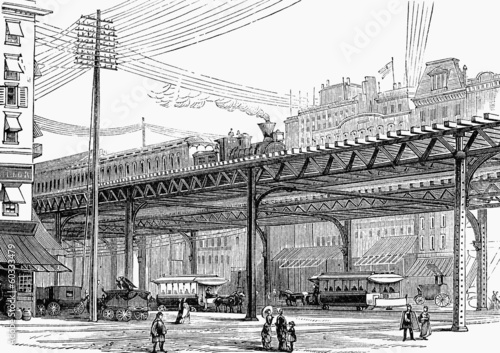 New York elevated railway