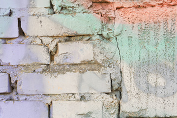 grafiti en ladrillo 1
