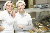 Sisters in Ice Cream Store - Family Business
