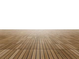 Parquet floor to horizon