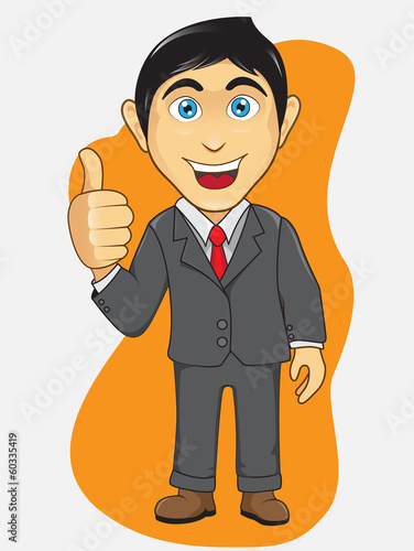 Businessman Thumb Pose