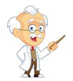 Fototapety Professor Holding a Pointer Stick