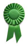 Green Award Ribbon