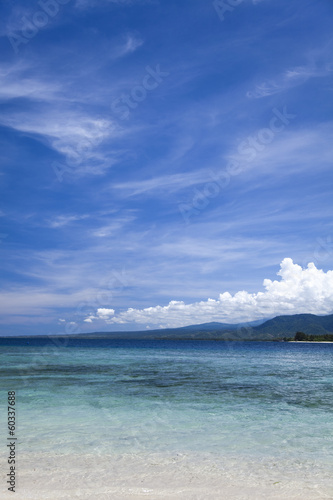 Tropical island of Gili Air, Indonesia - 60337688