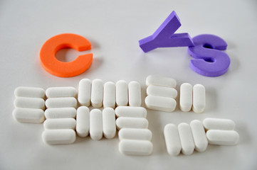 Vitamins-Cysteine supplements