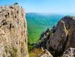 Hiker in Crimea