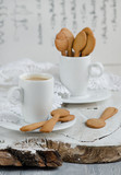 Shortbread and a cup of coffee