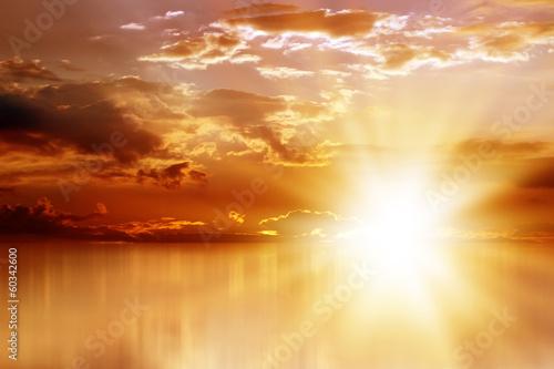 Plexiglas Zonsondergang sunset