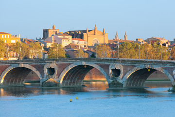 The Pont Neuf in Toulouse