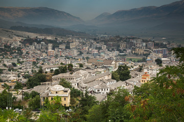 Gjirokastra, Albania old city