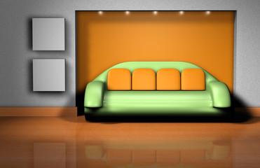 Couch - Kissen Nische