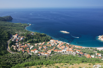 High View beautiful Coast Of Montenegro