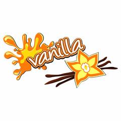 Vanilla label.