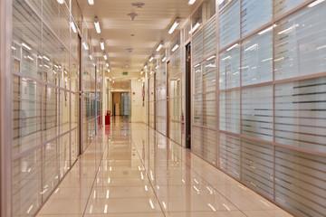 Inner passageway in office