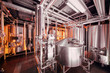 Brewing equipment at microbrewery