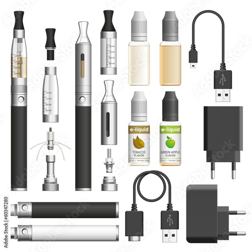 E-cigarette elements - 60347280