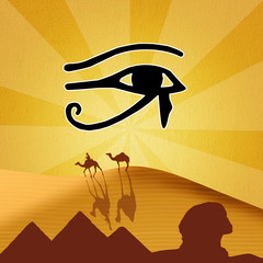 illustration of Horus eye
