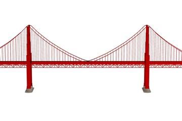 realistic 3d render of bridge