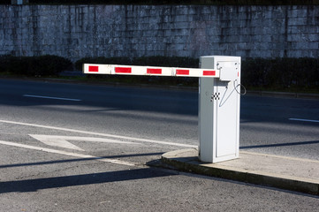 Vehicle security barrier