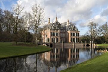Duivenvoorde Castle in Voorschoten, Netherlands.