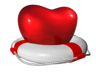 Lifebuoy for heart