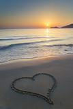 Fototapety Love at sunrise