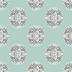 Seamless abstract background, vector pattern