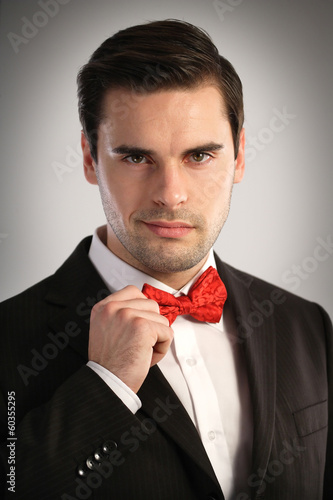 Portrait of an elegant man